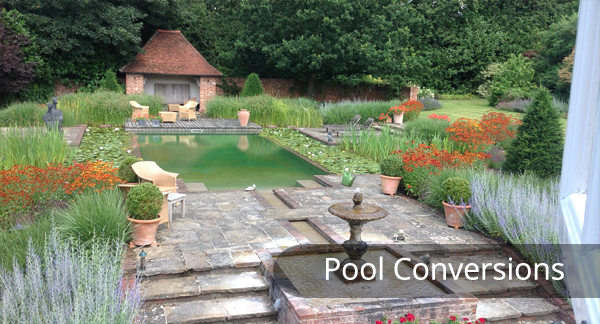 Pool and Pond Conversion into Natural Swimming Pools